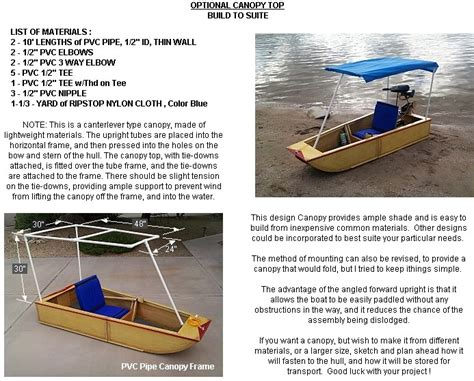 how to use homemade boat plans vocujigibo portable boat plans