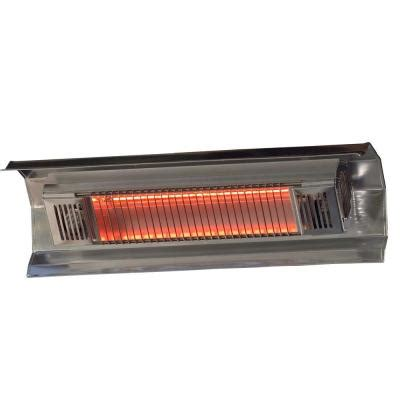 Fire Sense 1 500 Watt Stainless Steel Wall Mounted Patio Infrared Heater