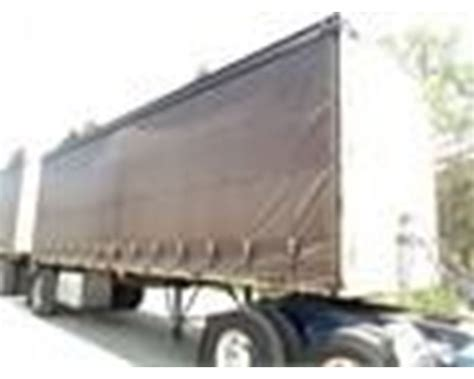 flatbed curtain side trailers 2003 reliance curtain side doubles flatbed trailer for