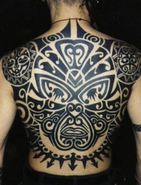 tribal back piece tattoos 42 maori tribal tattoos that are actually maori tribal