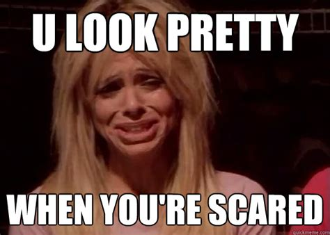 Scared Meme - u look pretty when you re scared ice queen meme quickmeme