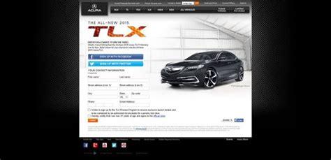 Acura Sweepstakes - acura tlx thrillstakes sweepstakes