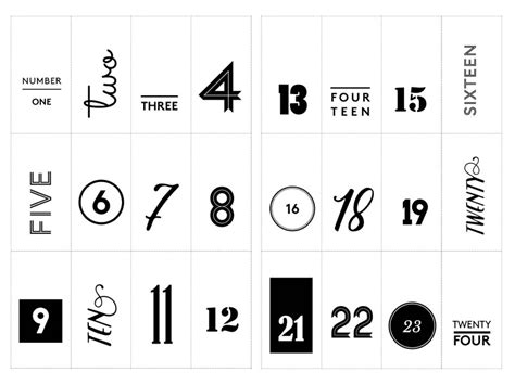 free printable advent calendar number tags project craft beer real ale advent calendar plus free