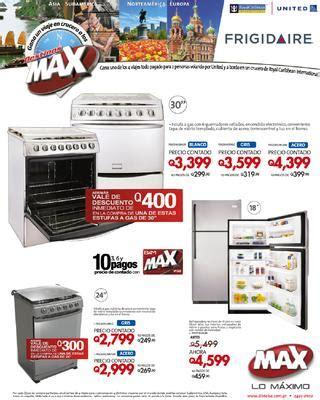 ofertas fin de semana frigidaire by tiendas max issuu