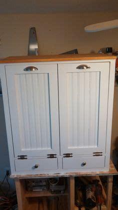 3 bin trash cabinet new black painted wood trash bin cabinet garbage