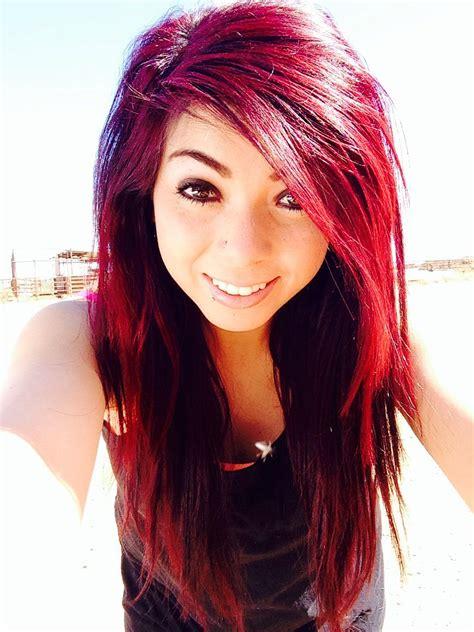 mixed hair colors and magenta mixed hair hair color styles
