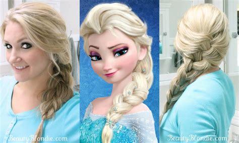 Elsa?s French Braid {Hair Style Video}