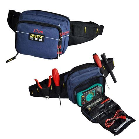 2018 Fasite Tool Kit Waist Belt Bag Organizer Professional Electricians Tool Pouch Good Quality