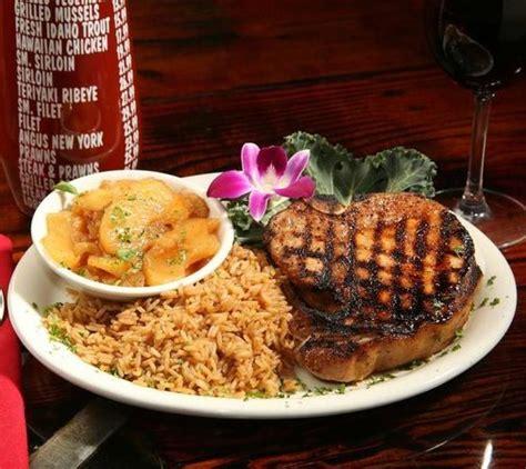 chuck s steak house menu chuck s steakhouse of hawaii american restaurant 3888 state st in santa barbara