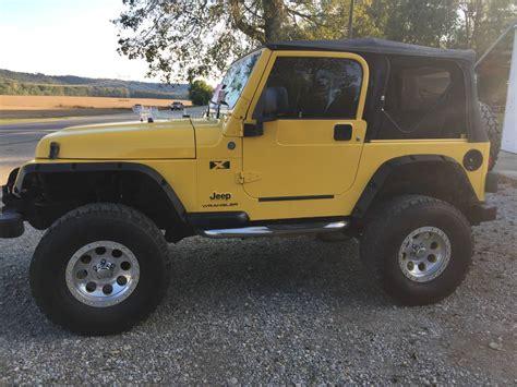 Jeep For Sale Ohio 2005 Jeep Wrangler X For Sale In Chillicothe Ohio 10 500