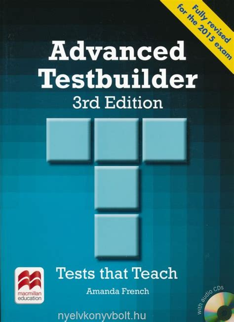 expert advanced 3rd edition advanced testbuilder 3rd edition with audio cds without key nyelvk 246 nyv forgalmaz 225 s