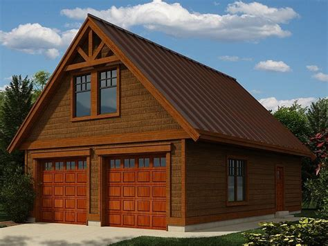 Detached Garage Plans With Loft by Garage Plans Detached Garage Plans Garage Pinterest