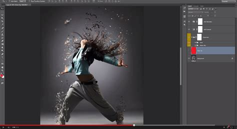 tutorial photoshop action dispersion photoshop action by sevenstyles graphicriver