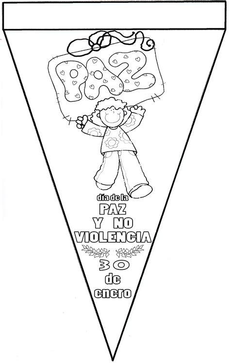 imagenes escolares de la paz d 237 a de la paz actividades para imprimir y colorear