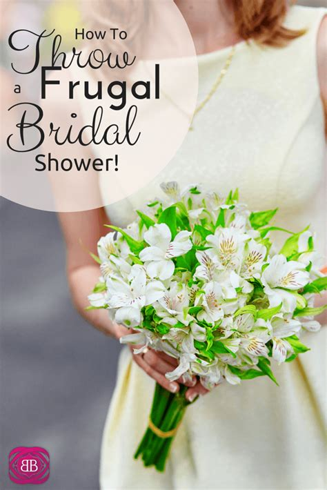 Where To Throw A Bridal Shower by How To Throw A Frugal Bridal Shower Budget