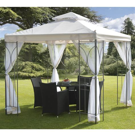 metal gazebo with curtains top 30 cheapest gazebo curtains uk prices best deals on