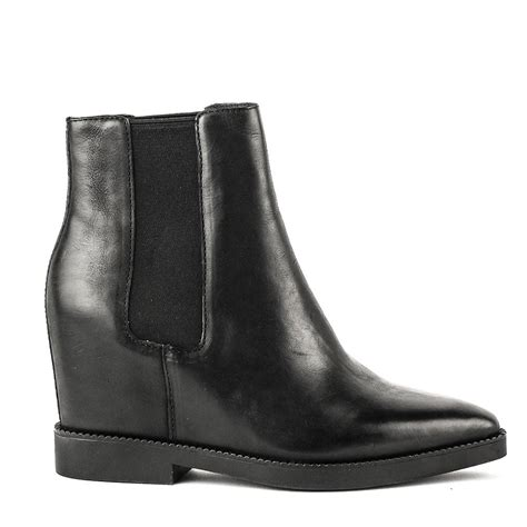 shop ash black leather boots for aw16 the gong boots are