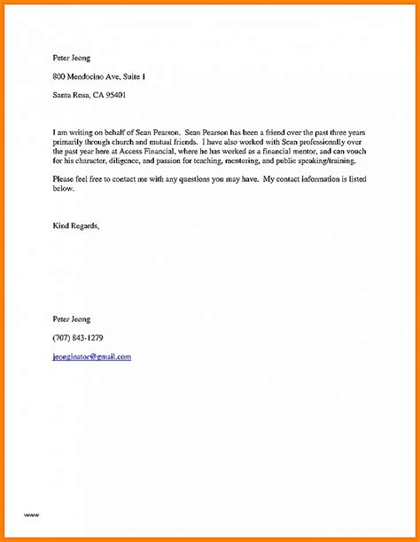 College Letter Of Recommendation Sle From Family Friend letter of recommendation luxury sle college