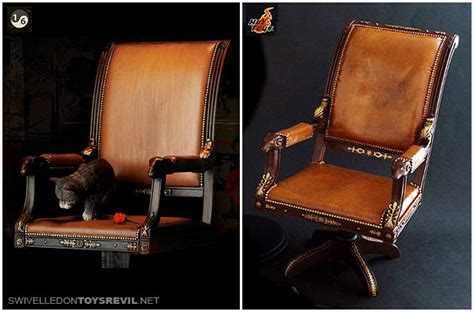 The Godfather Chair by 1 6 Godfather Chairs Cats And Hat Enterbay Sideshow