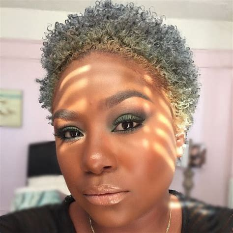 gray hair styles african american women over 50 17 best images about natural hair on pinterest shorts