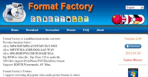 format factory online converter download format factory free media file format converter