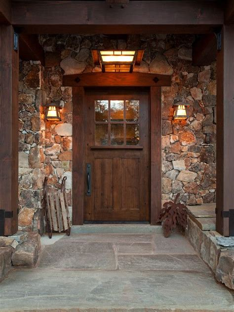 front entrance wall ideas 17 best ideas about rustic front porches on pinterest