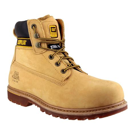 Caterpillar Holton Safety Boots caterpillar holton s3 honey safety boots charnwood