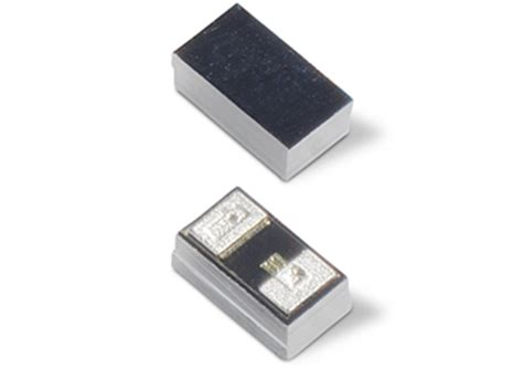 tvs diode for gps unidirectional esd protection comes in a 01005 flip chip package