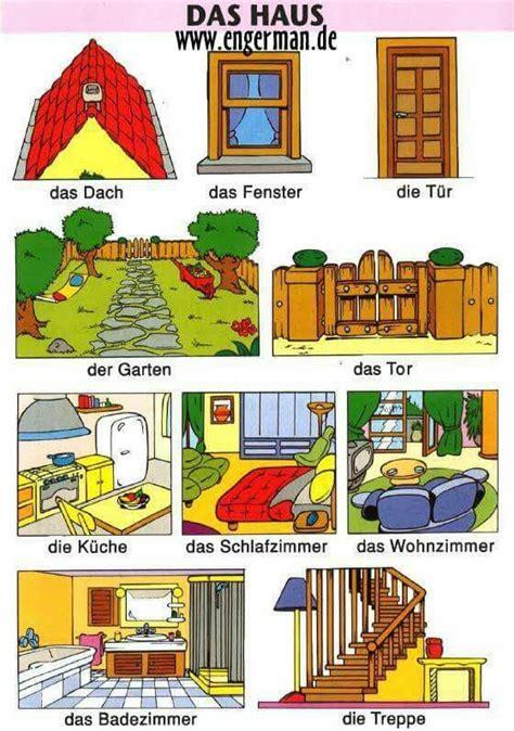 der die das haus das haus wortschatz german learn german