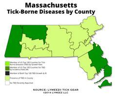 four decades of wondering is it lyme the boston globe 1000 images about tick maps us states canadian