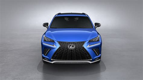 lexus nx 2018 colors 2018 lexus nx debuts new look and enhanced handling