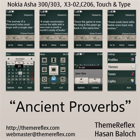 nokia c2 heart themes ancient proverbs theme for nokia asha 300 303 x3 02 c2
