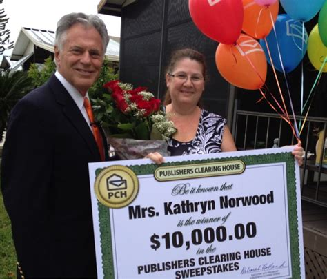 Recent Publishers Clearing House Winners - the winning moment from various points of view pch blog