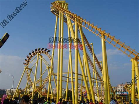 roller coaster swing ali brothers amusement rides manufacture roller coaster