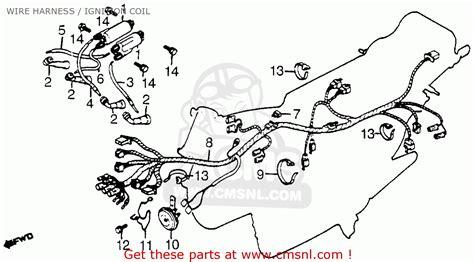 honda cb650sc nighthawk 1982 c usa wire harness