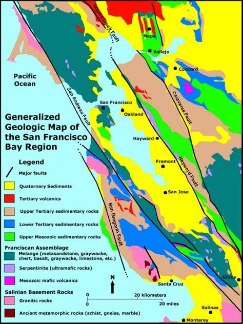 san francisco geology map gotbooks miracosta edu