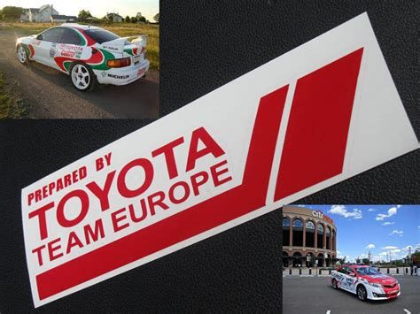 Toyota Production Team Member Description Prepared By Toyota Team Europe Decal Sticker Tuner Vinyl
