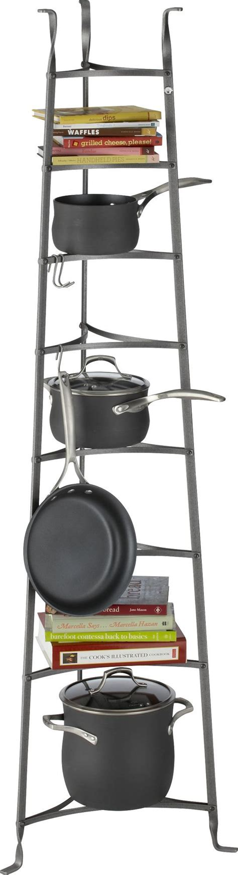 Standing Pot Rack enclume 174 standing 8 tier pot rack