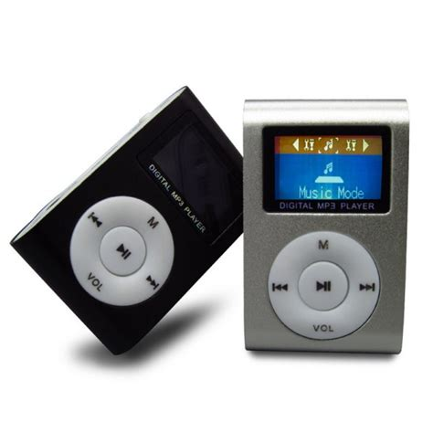 Mp3 Player 20 by Mini Usb Metal Clip Mp3 Player Lcd Screen Support 32gb