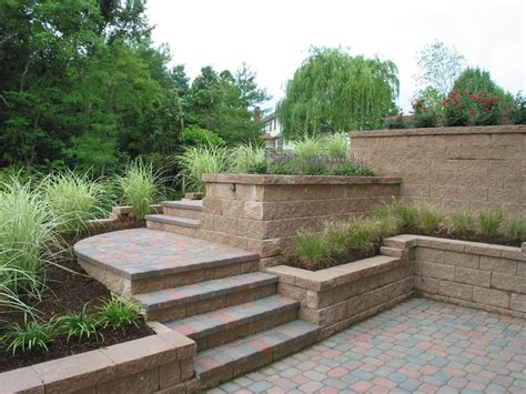 patio wall planters brick patio design with wall planters gardens and