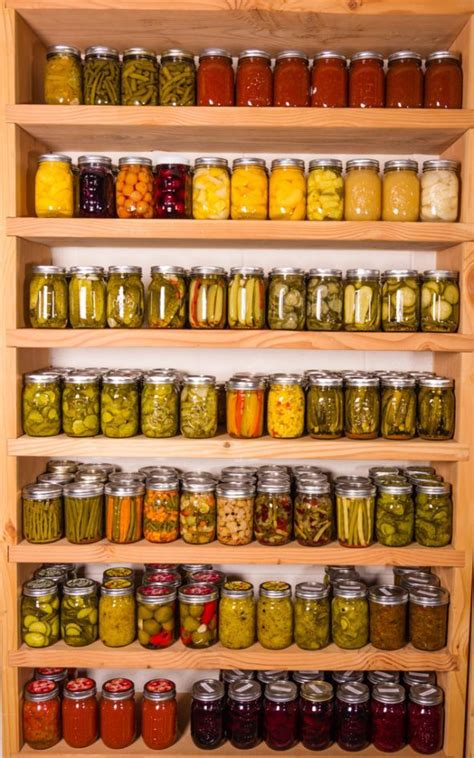 canning jar storage shelves bing images how to store