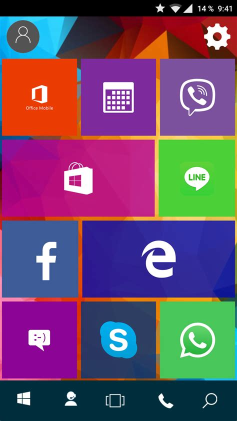 windows launcher for android windows 10 launcher udělejte z androida lumii ale jen na oko