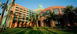 Arched Cabins Walt Disney World Swan Resort Orlando Limo Ride Blog