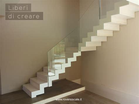 scale interne a giorno scale a giorno di design in acciaio e vetro