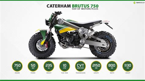 caterham brutus 750 the suv of motorcycles
