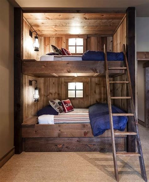 bedrooms with bunk beds 25 best ideas about rustic bedrooms on