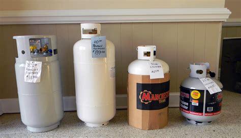 propane tank portable propane tank sizes portable tank refills gas company inc