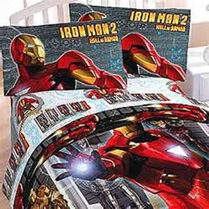 3pc iron armor marvel comics bedding bed sheets set ebay