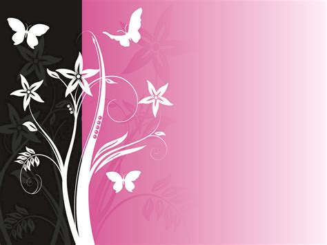 Black And Pink PPT Backgrounds, Black And Pink ppt photos
