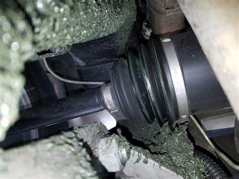 is this a cv boot leak corvetteforum chevrolet
